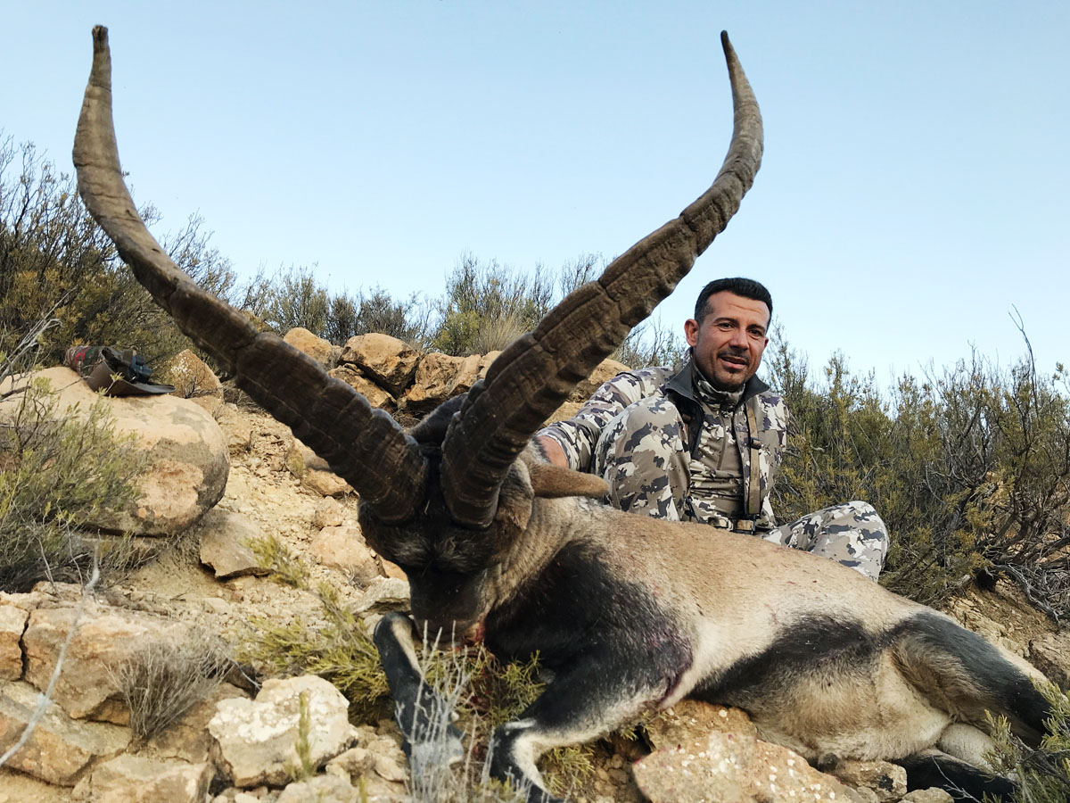 Silver medal Beceite Ibex trophy