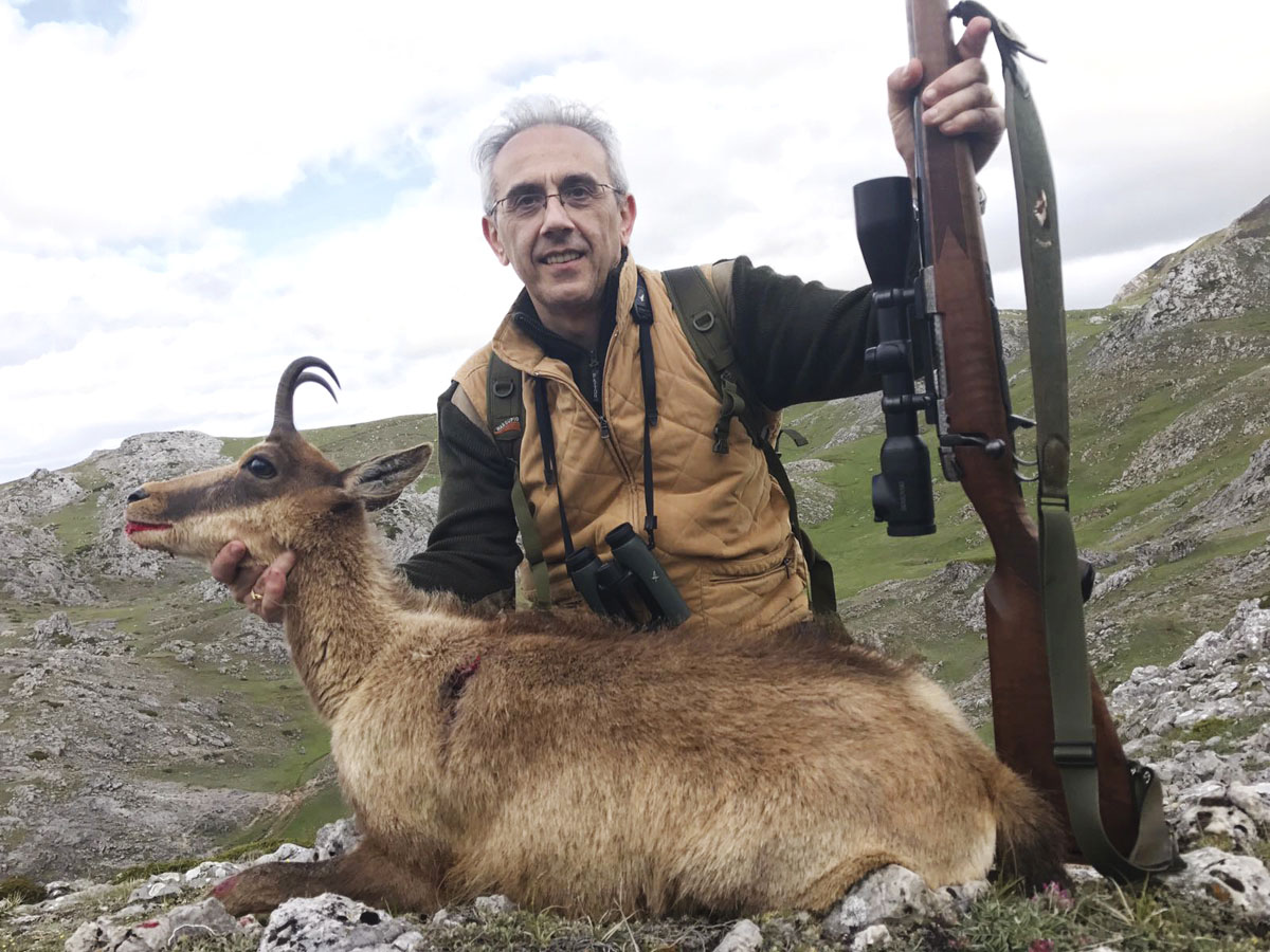 Cantabrian Chamois trophy hunt in Spain