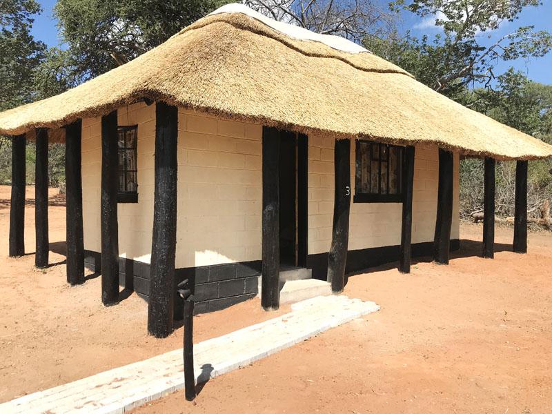 Hunting lodge in Zimbabwe