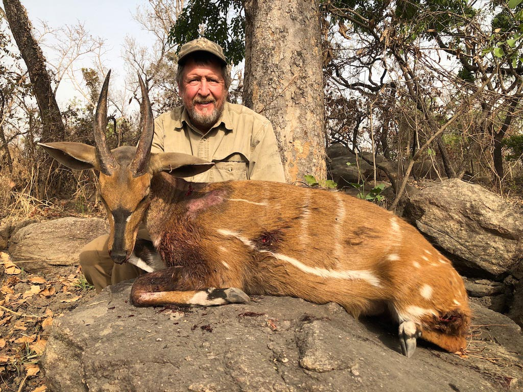Bushbuck hunt with Tim Reiger in Cameroon